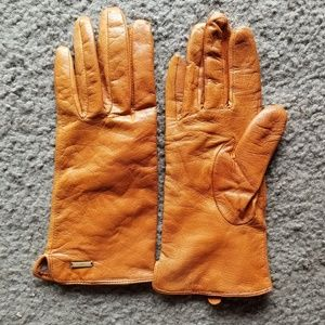 Nwot H&M Genuine leather gloves